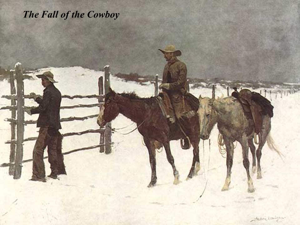 The Fall of the Cowboy