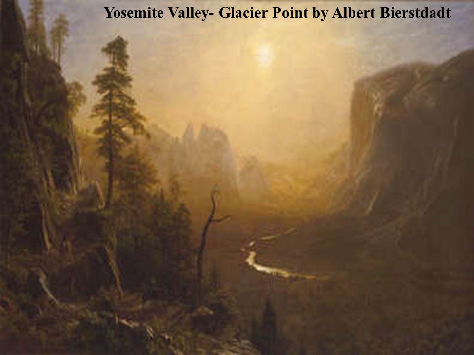 Yosemite Valley- Glacier Point by Albert Bierstdadt