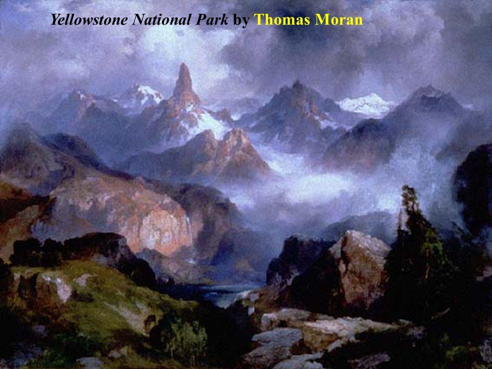 Yellowstone National Park by Thomas Moran