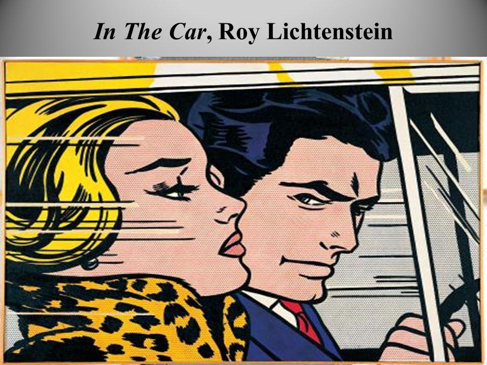In The Car, Roy Lichtenstein