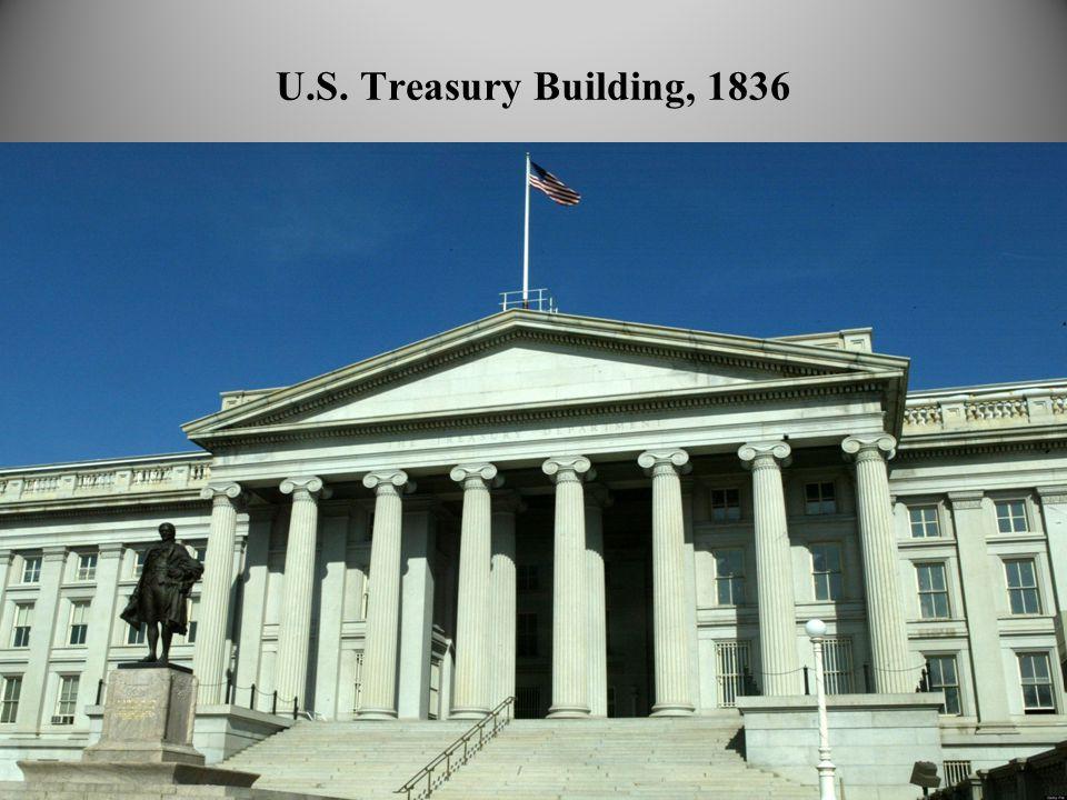 U.S. Treasury Building, 1836