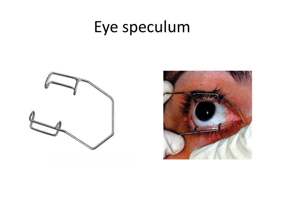 Eye speculum