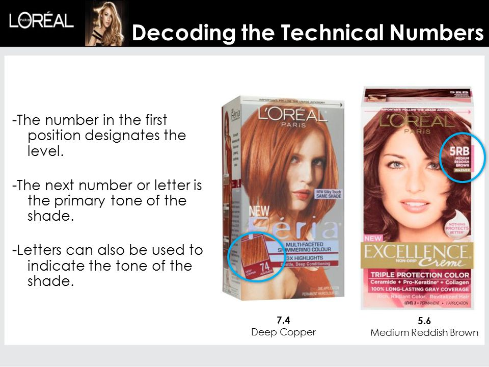 -The number in the first position designates the level.