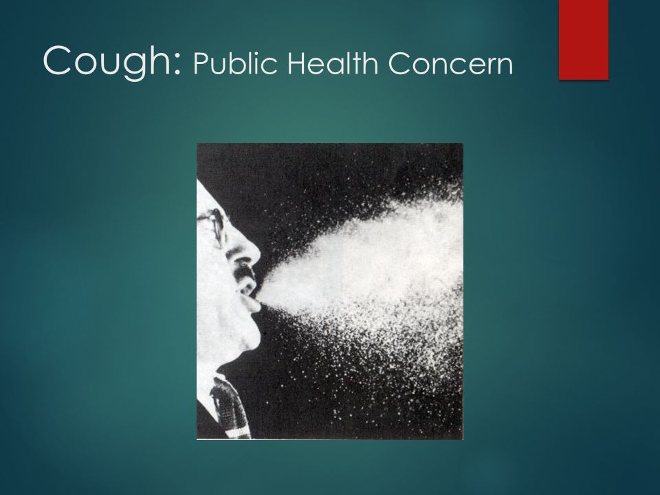 Cough: Public Health Concern