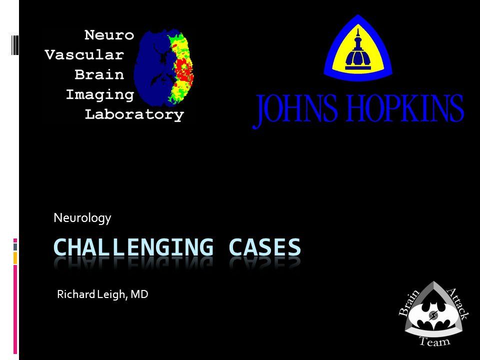 Neurology Richard Leigh, MD
