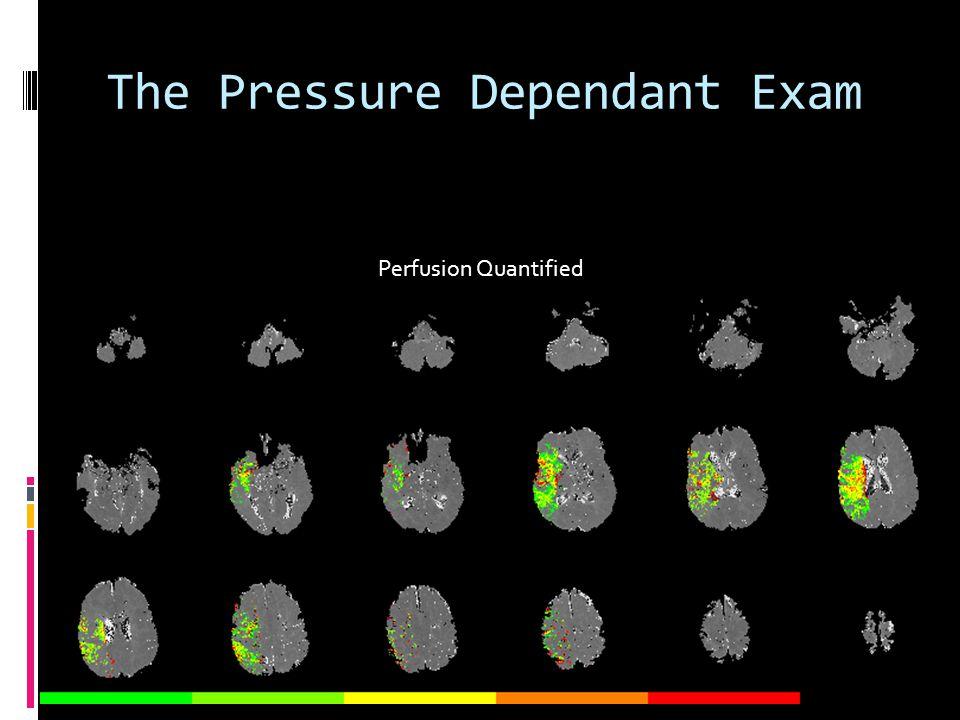 The Pressure Dependant Exam Perfusion Quantified