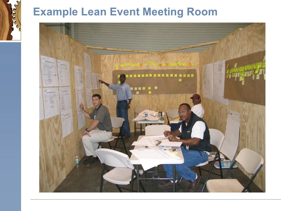 Example Lean Event Meeting Room