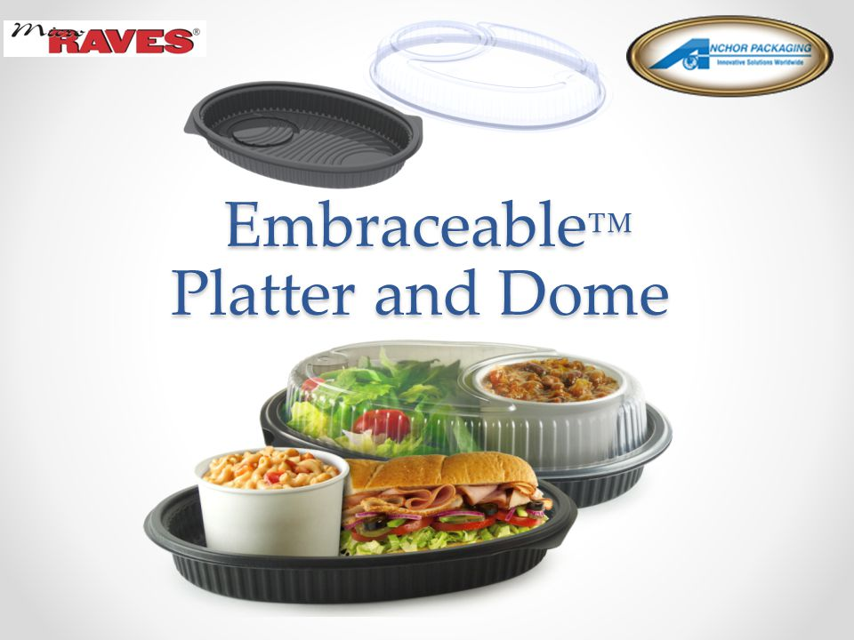 Embraceable ™ Platter and Dome Embraceable ™ Platter and Dome