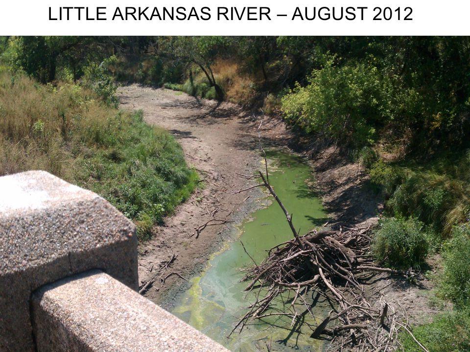 LITTLE ARKANSAS RIVER – AUGUST 2012