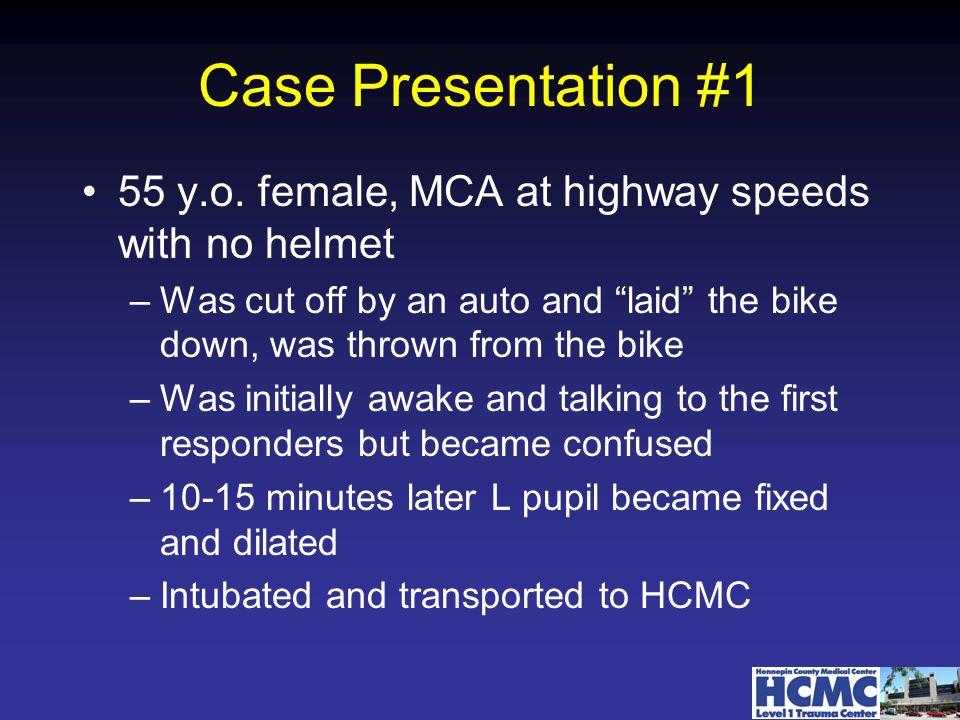 Case Presentation #1 55 y.o.