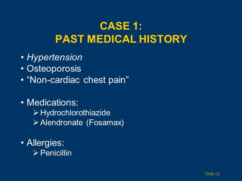 CASE 1: CHEST X-RAY Slide 13