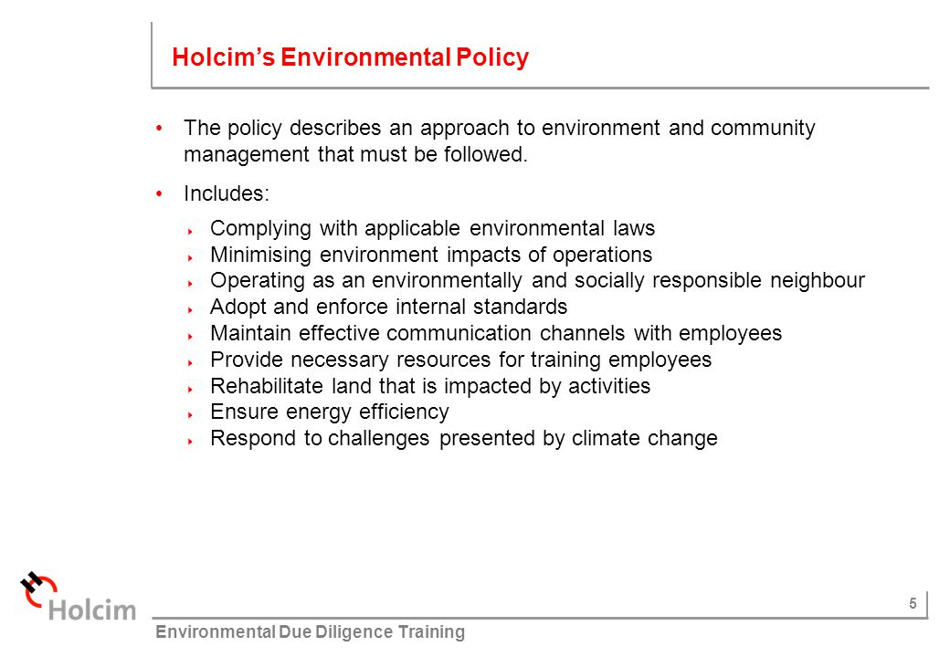36 © Holcim (Australia) Pty Ltd Environmental Due Diligence Training Stakeholder Involvement Recording inquiries and / or complaints: Free call: 1800 809 381 Email address: rootyhillproject-aush@holcim.com Postal Address: Rooty Hill Project Manager, Holcim, PO Box 5697, West Chatswood, NSW 1515 Community and Stakeholder Management