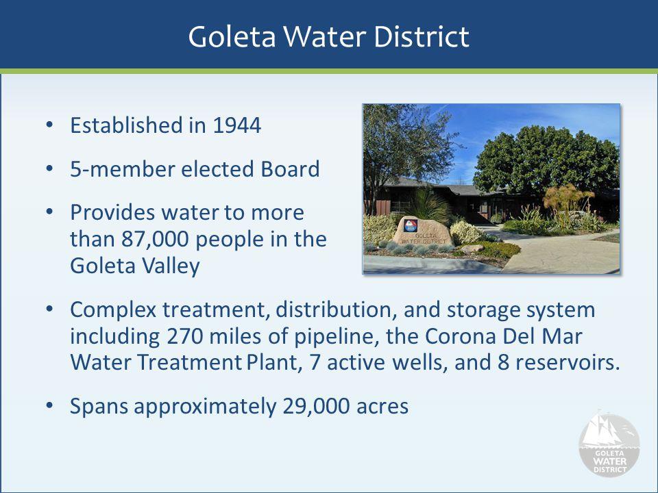 Goleta Water District