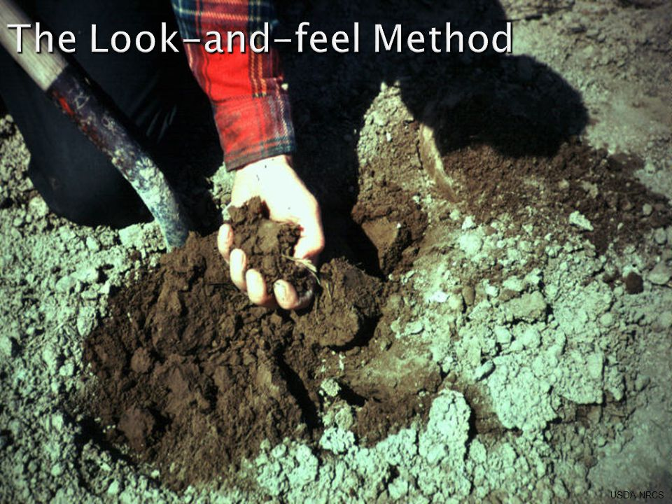 The Look-and-feel Method USDA NRCS