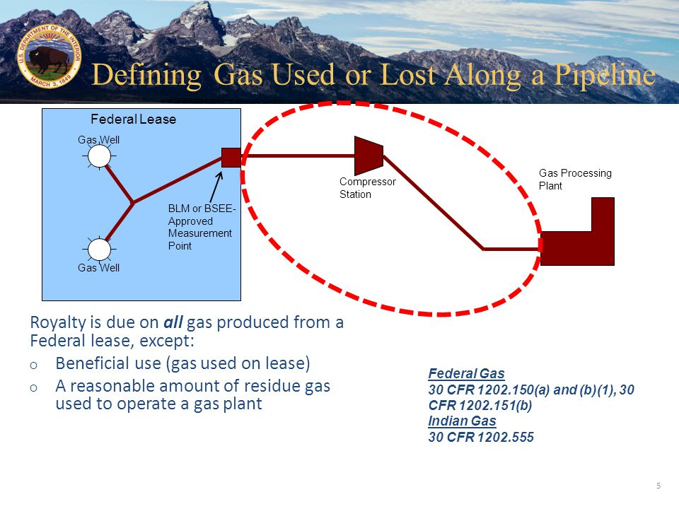 Office of Natural Resources Revenue ○ First, check meters and reporting for errors ○ Royalty volume and value should reflect the full quantity and quality measured at the approved royalty meter 1 ○ The value of the pipeline gain should be credited against the transportation allowance 2 1 30 CFR 1206.154(a)(2) and (b)(2) 2 30 CFR 1206.157(f)(7) 26 Pipeline Gains