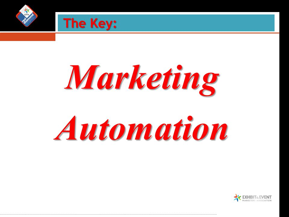 MarketingAutomation The Key: