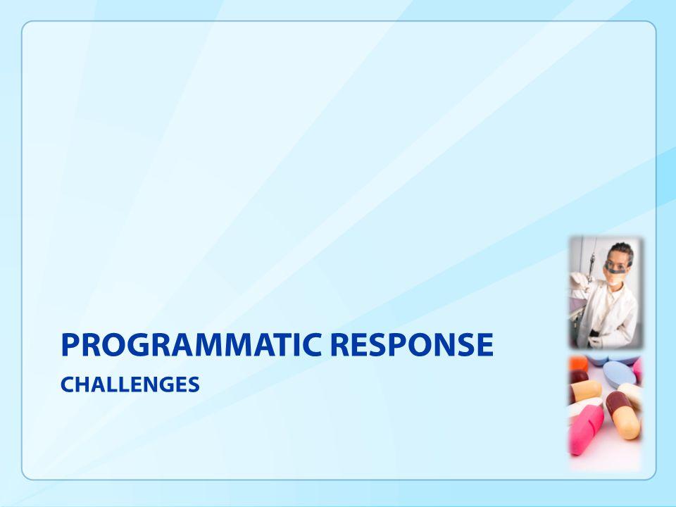 PROGRAMMATIC RESPONSE CHALLENGES