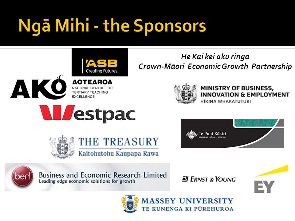 He Kai kei aku ringa Crown-Māori Economic Growth Partnership