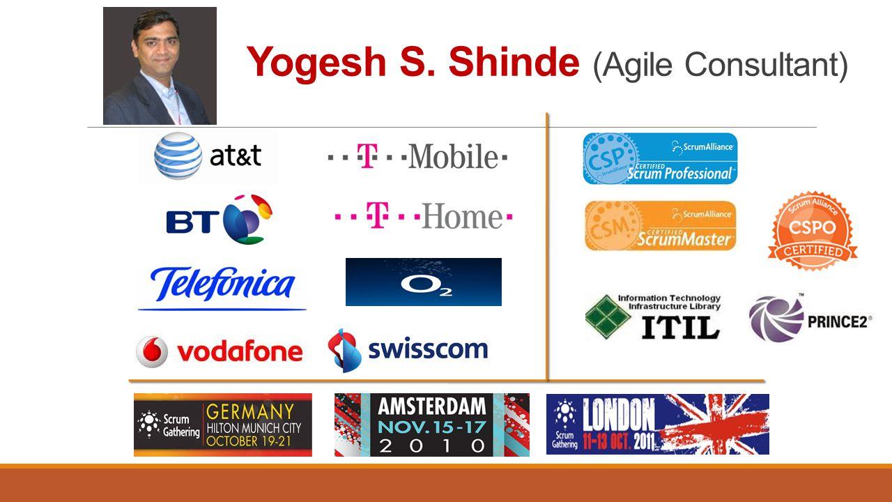 Yogesh S. Shinde (Agile Consultant)