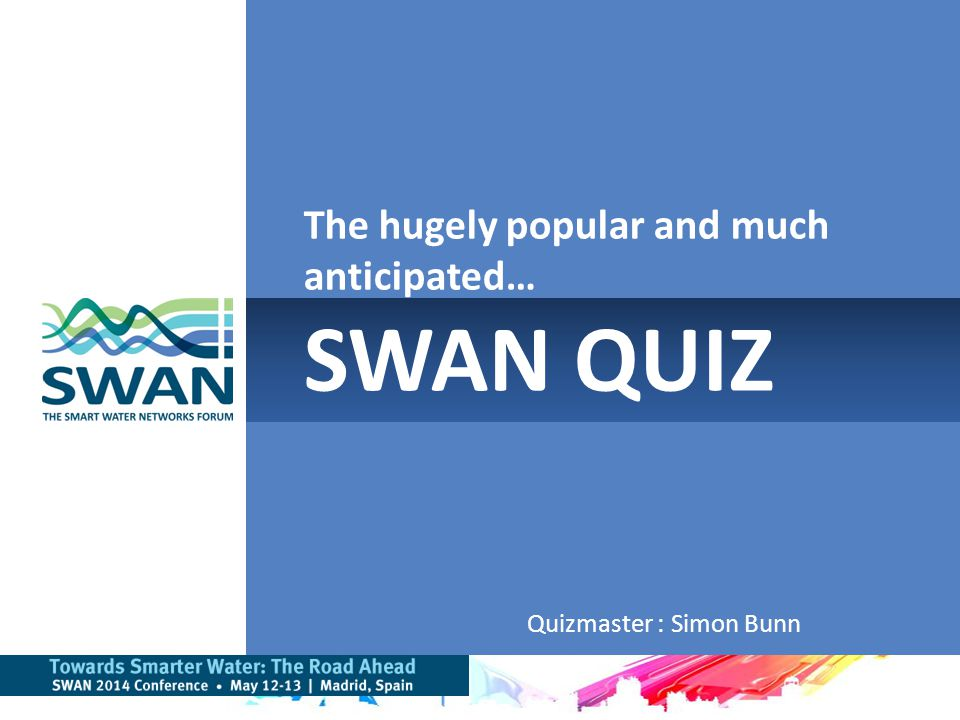 Two Rounds of Questions Overall Prizes for top total scores Bonus questions with spot prizes Bonus round rules: – All questions require a number as the answer – Team submits their answer to Quizmaster – Closest answer wins – Google search results used, no alternative answers accepted 2