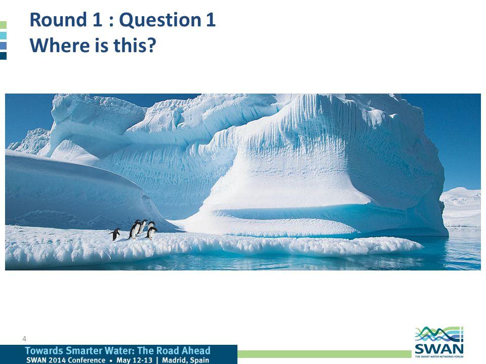 Answers : Round 1 15