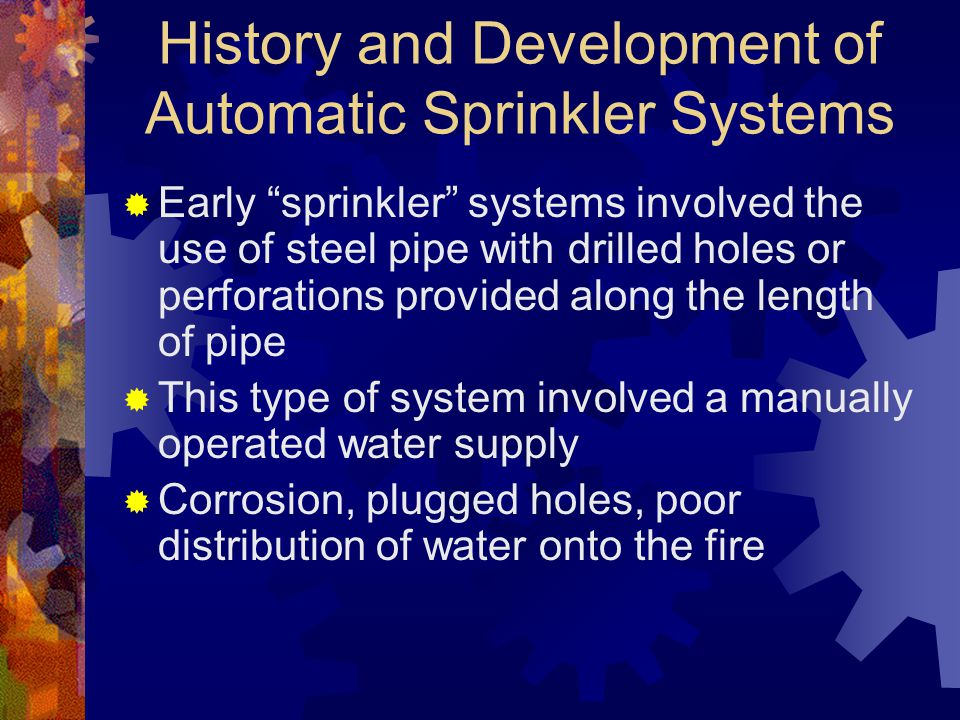 Residential Sprinkler Systems (cont.)  NFPA 13R addresses cost-effective sprinkler protection with LIFE SAFETY as its PRIMARY GOAL and PROPERTY PROTECTION as a SECONDARY GOAL  NFPA 13R provides a high, but not an absolute, level of life safety and a somewhat lesser degree of property protection