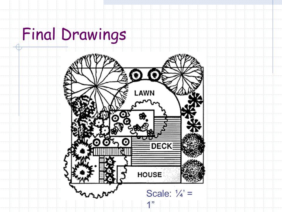 Final Drawings Scale: ¼' = 1