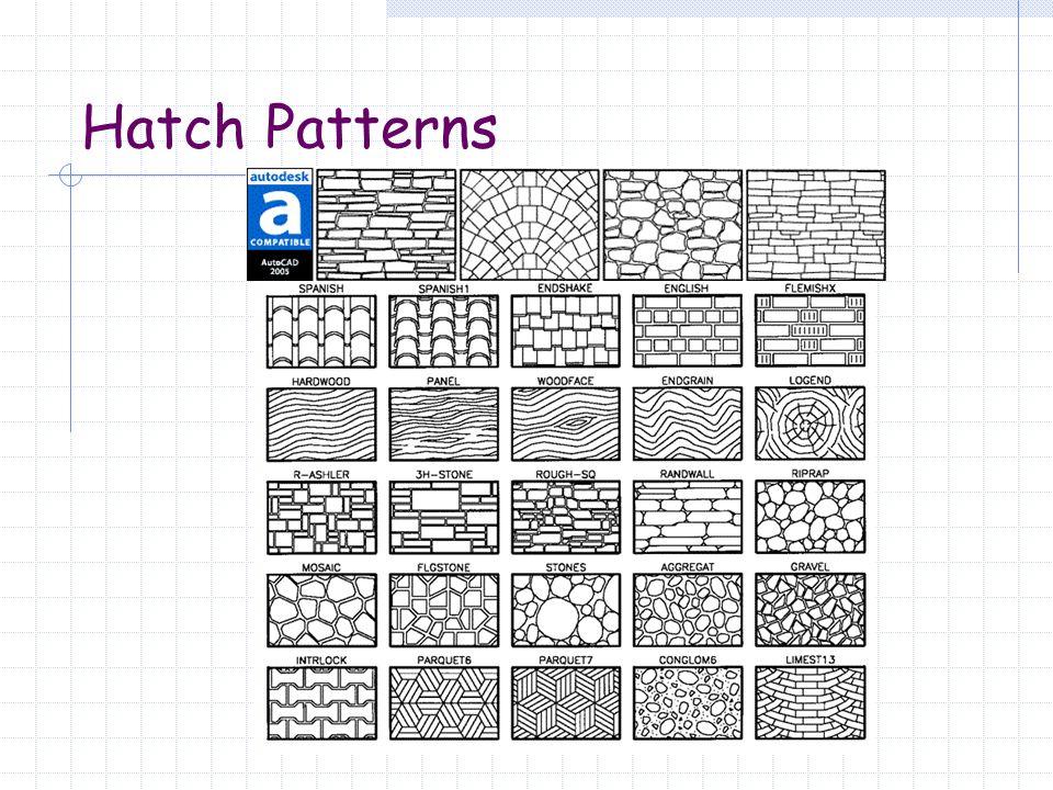 Hatch Patterns