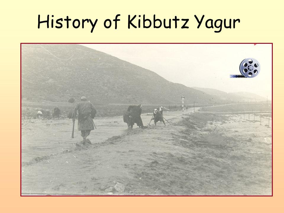 History of Kibbutz Yagur