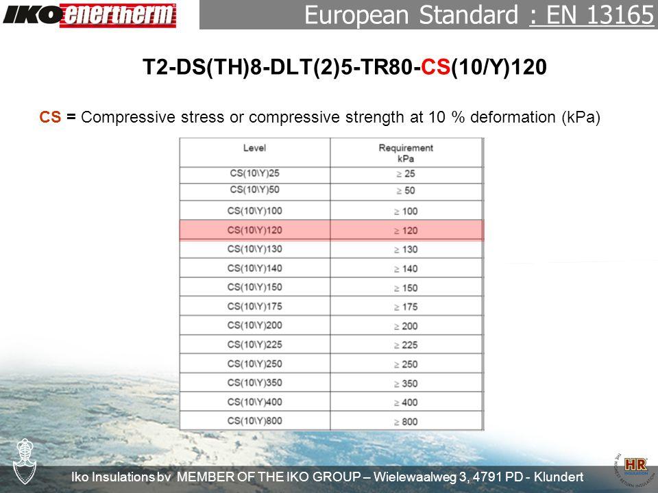 Iko Insulations bv MEMBER OF THE IKO GROUP – Wielewaalweg 3, 4791 PD - Klundert