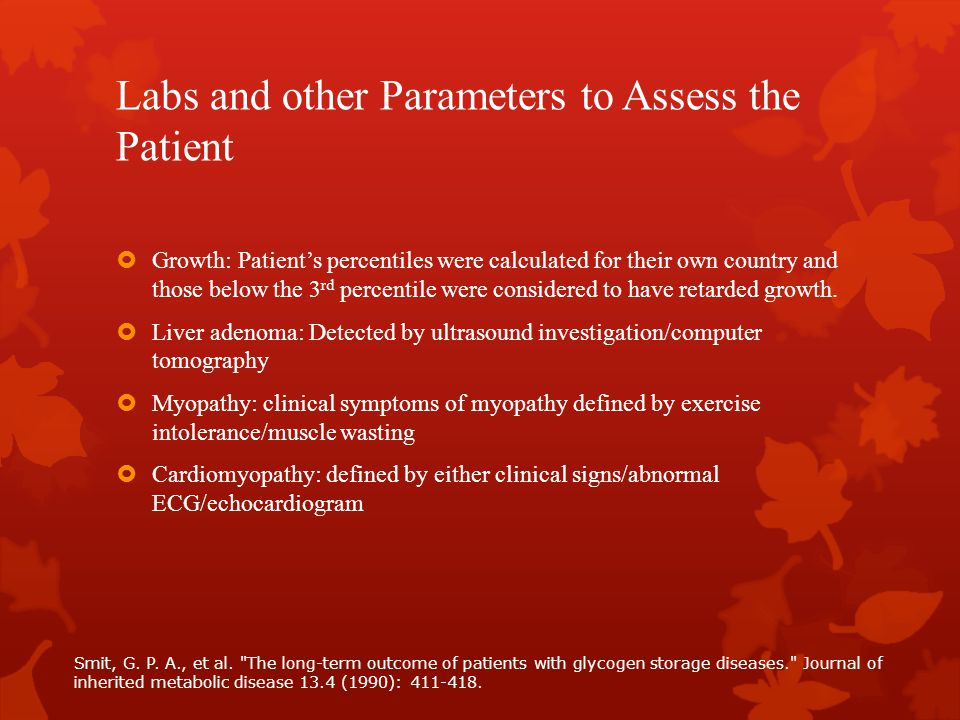 Labs and other Parameters to Assess the Patient  Growth: Patient's percentiles were calculated for their own country and those below the 3 rd percent