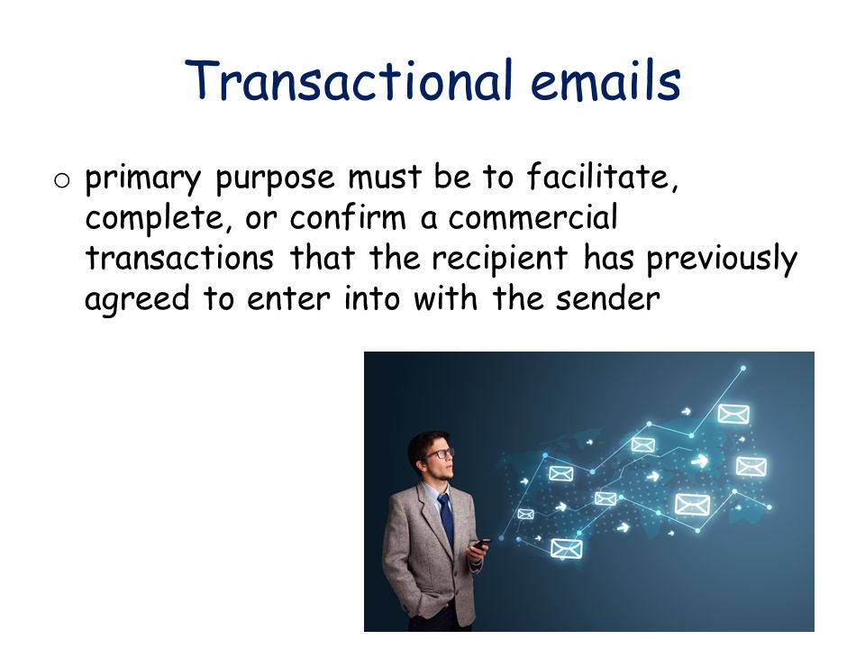 Direct emails o involves sending an email solely to communicate a promotional message (for example, an announcement of a special offer or a catalog of products).