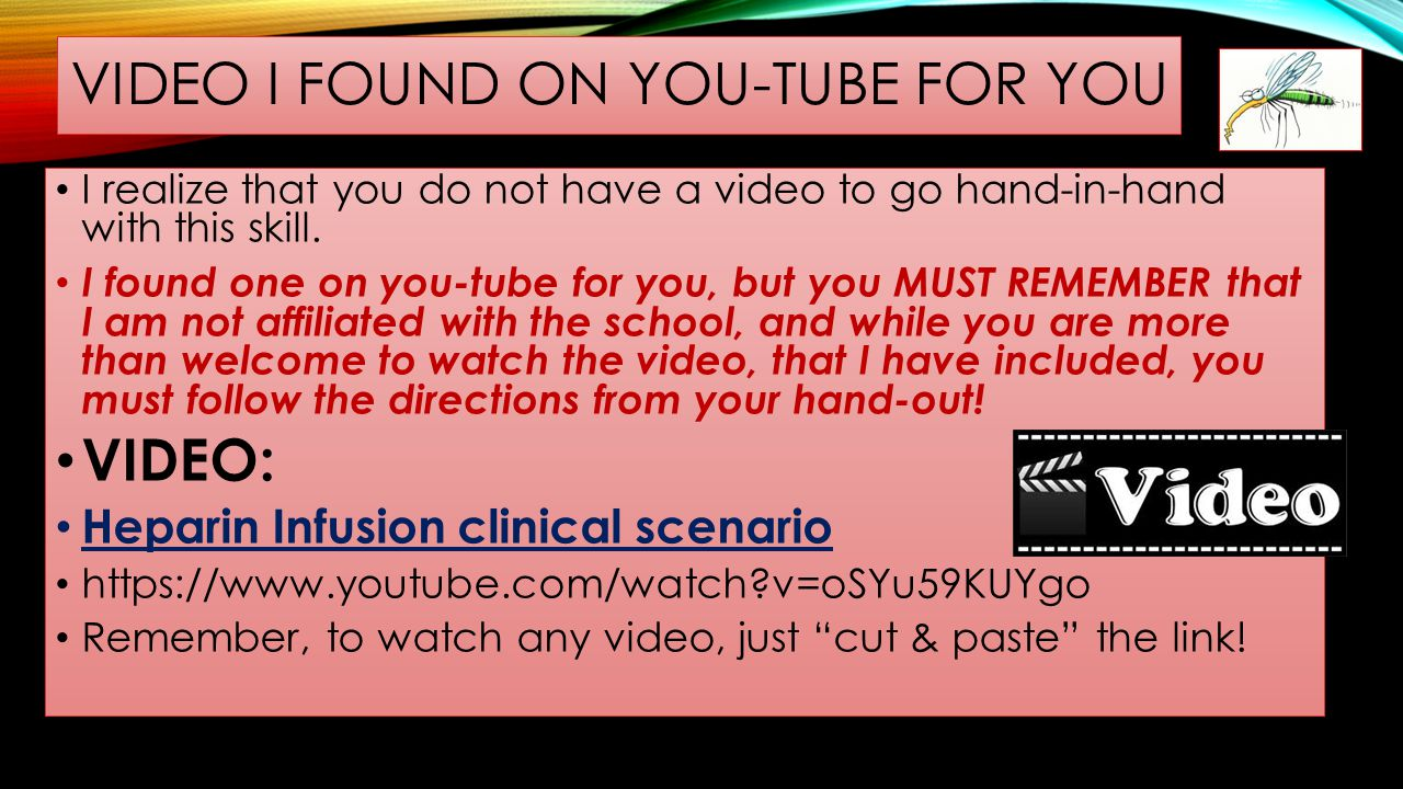 VIDEO I FOUND ON YOU-TUBE FOR YOU I realize that you do not have a video to go hand-in-hand with this skill. I found one on you-tube for you, but you