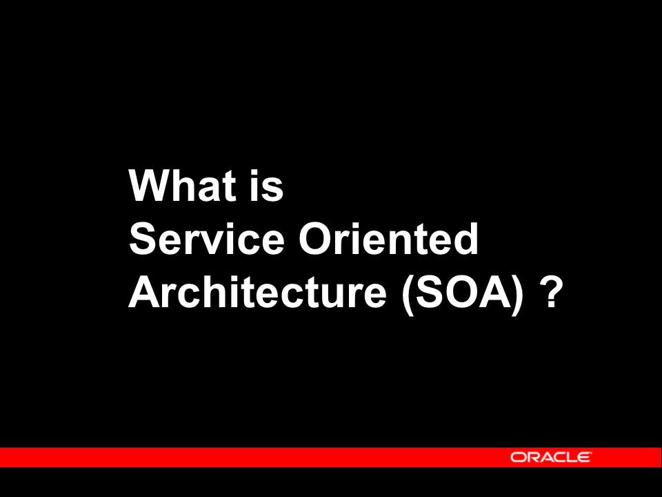 Agenda Distributed Computing Service Oriented Architecture (SOA) Service Delivery Platform Benefits Oracle Fusion Middleware