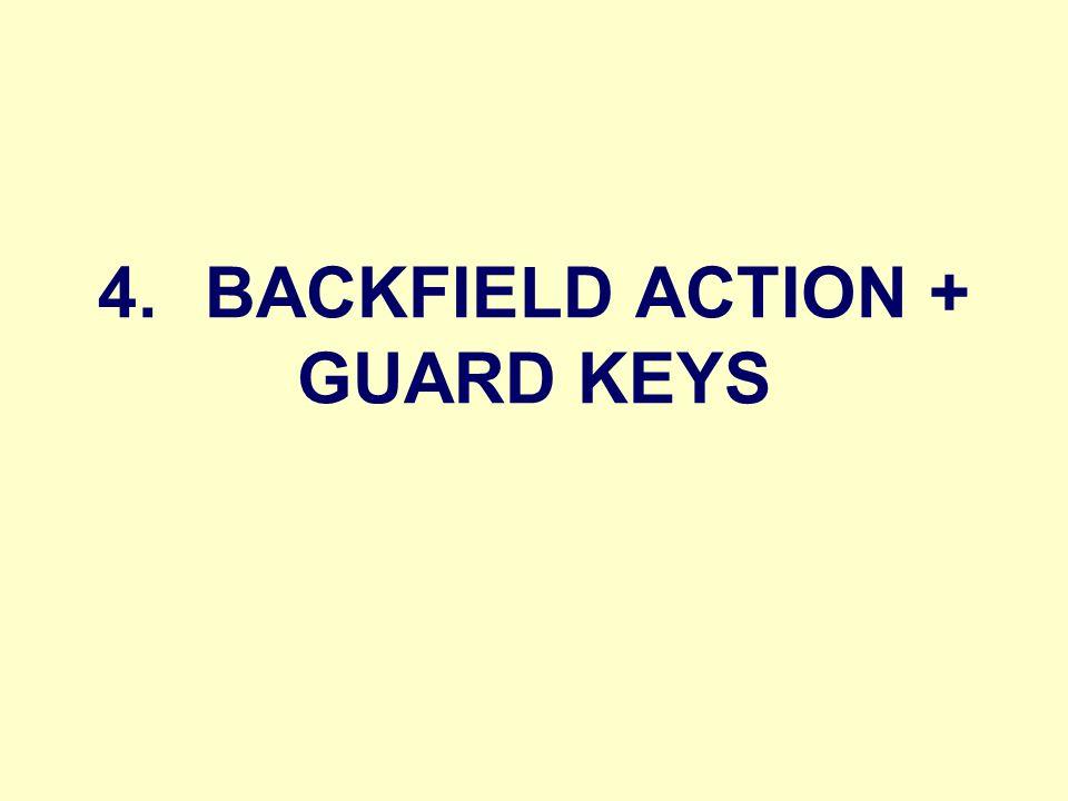 4.BACKFIELD ACTION + GUARD KEYS
