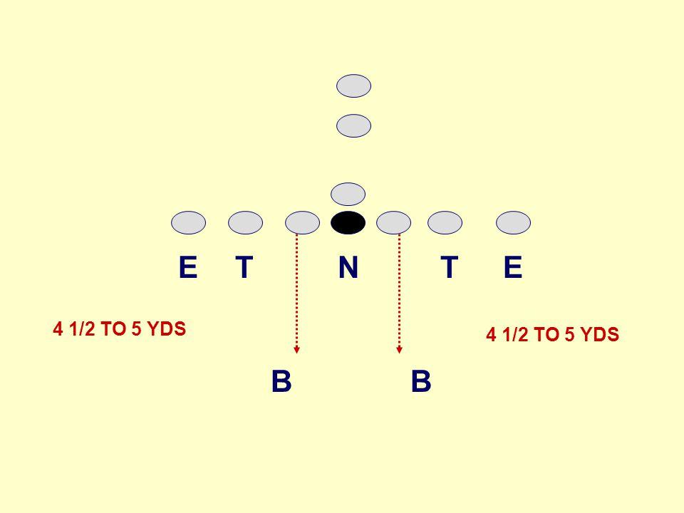 B B TNTEE 4 1/2 TO 5 YDS