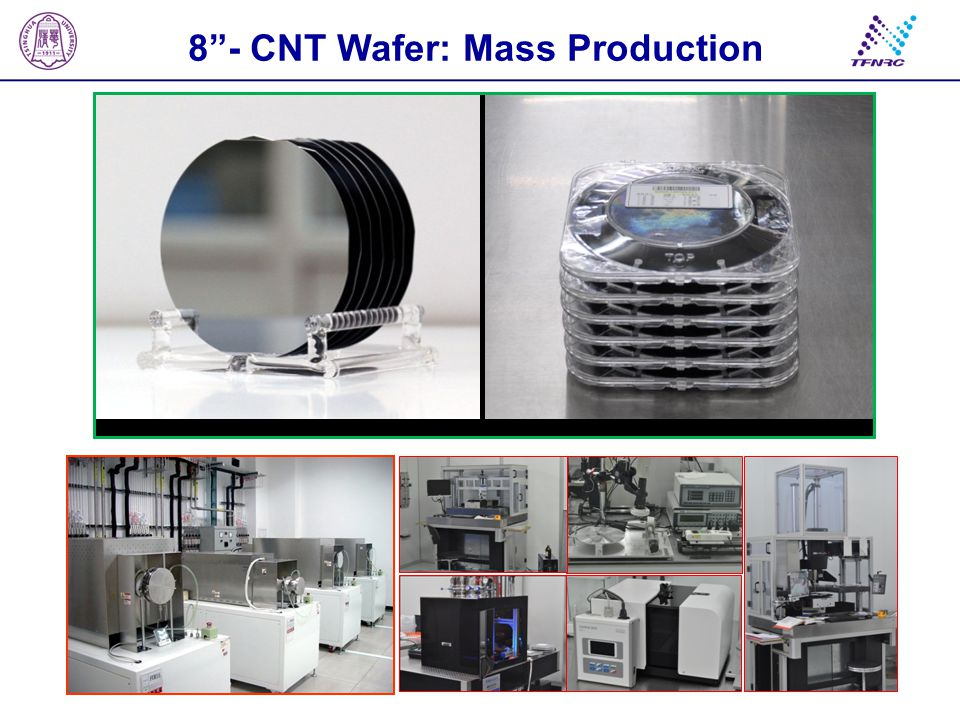 "8""- CNT Wafer: Mass Production"
