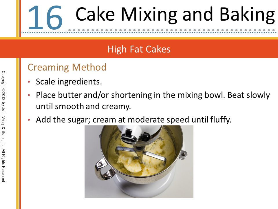 High Fat Cakes Copyright © 2013 by John Wiley & Sons, Inc.
