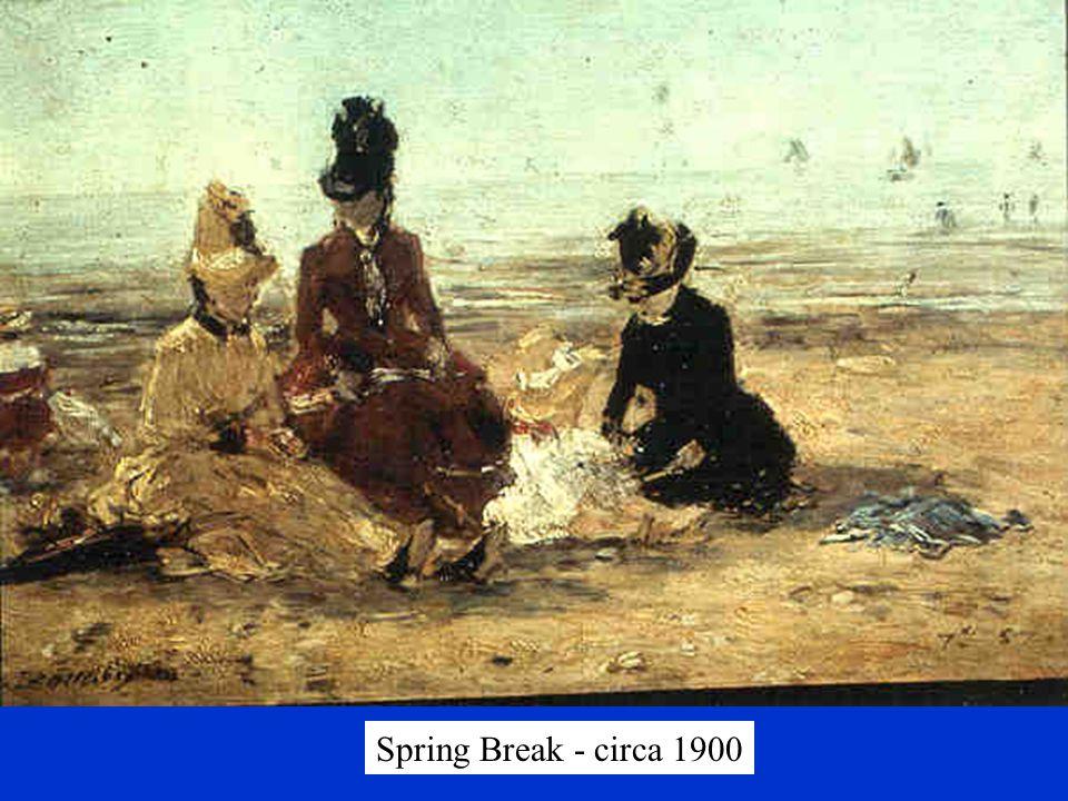 Spring Break - circa 1900