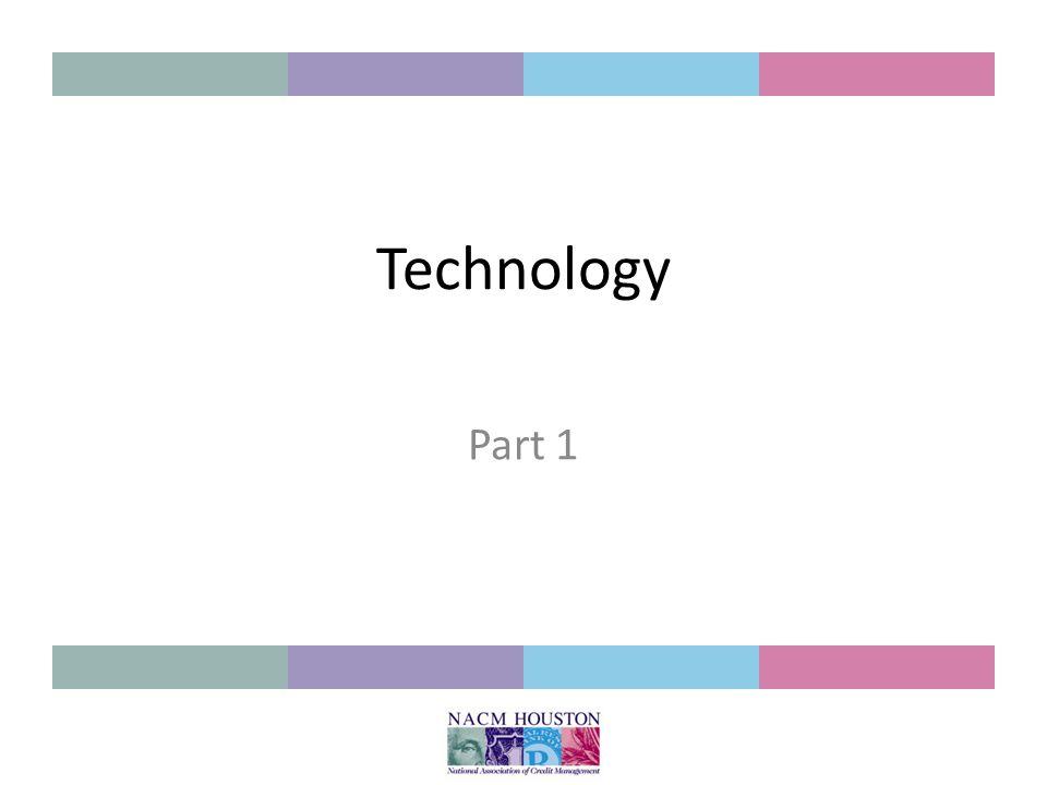 Technology Part 1