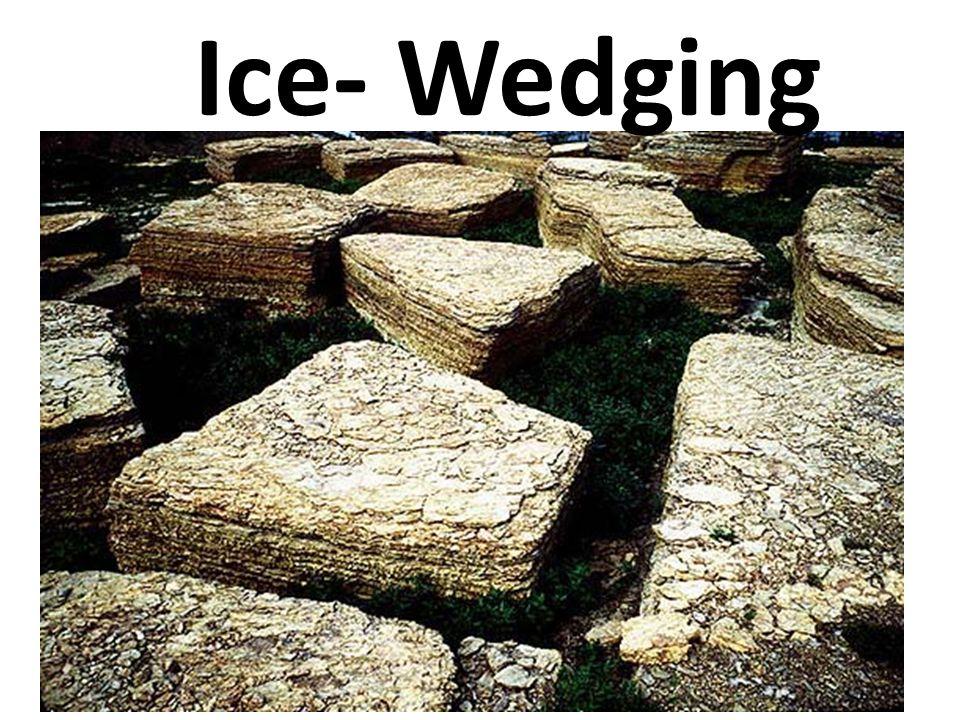 Ice- Wedging