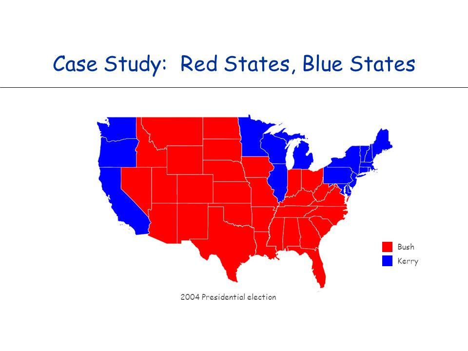 33 Purple America % java ElectionMap USA-county 2004
