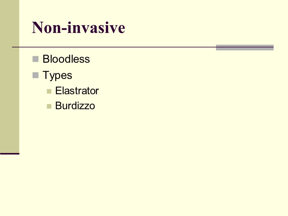 Non-invasive Bloodless Types Elastrator Burdizzo