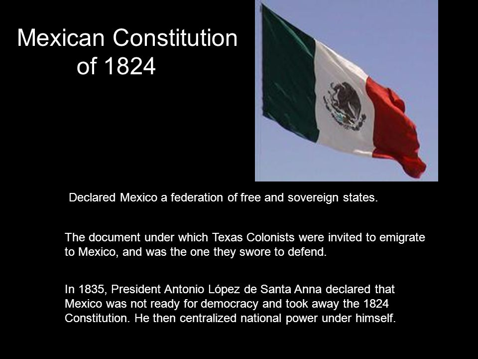 But the constitution also legalized slavery, and required free blacks to petition Congress for permission to stay in Texas.