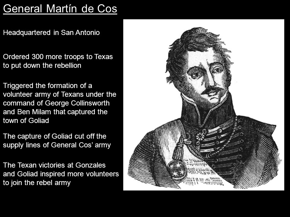 Travis made many more pleas for aid to the provisional government and to Colonel James Fannin at Goliad, but they sent no help.