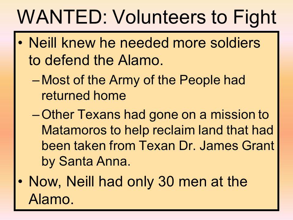 Santa Anna and his troops headed north toward San Antonio.