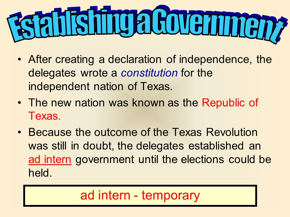 The Texas Declaration of Independence was adopted by the Consultation on March 2, 1836, by a unanimous vote.