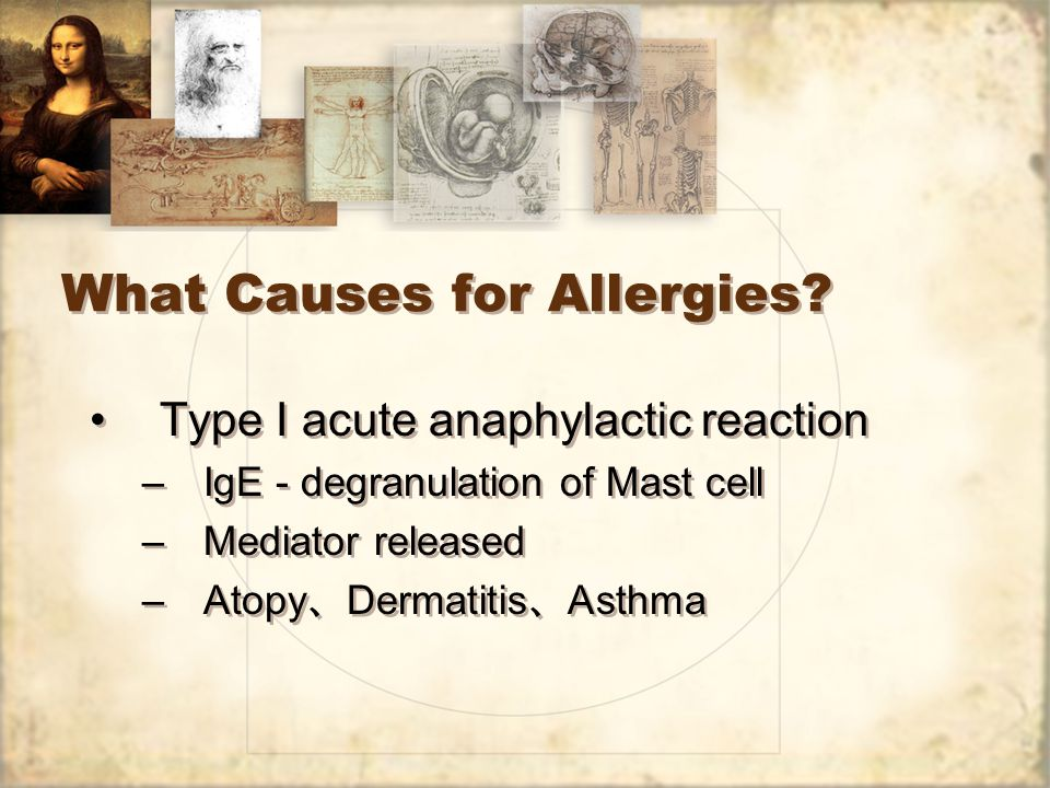 What is Allergic Reaction.