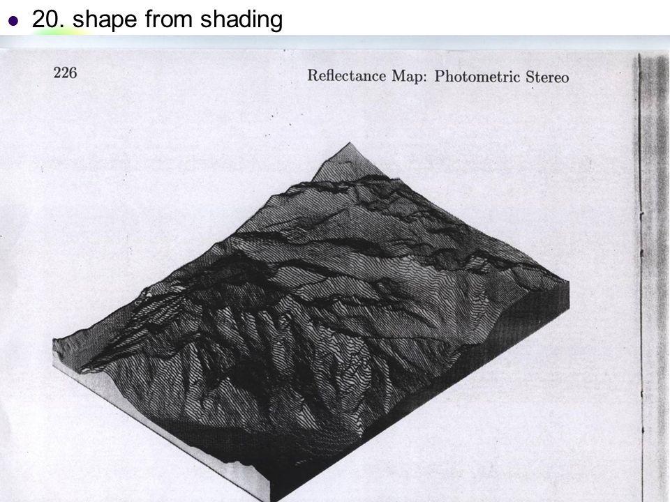 DC & CV Lab. CSIE NTU 20. shape from shading