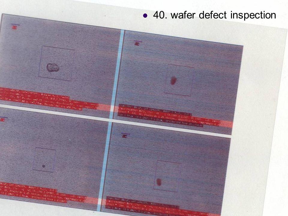 DC & CV Lab. CSIE NTU 40. wafer defect inspection